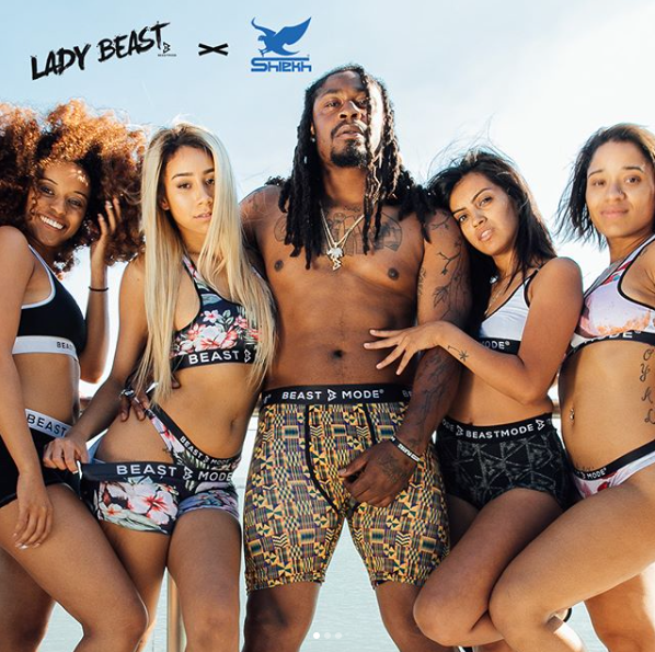 PSD Underwear x Marshawn Lynch Beastmode