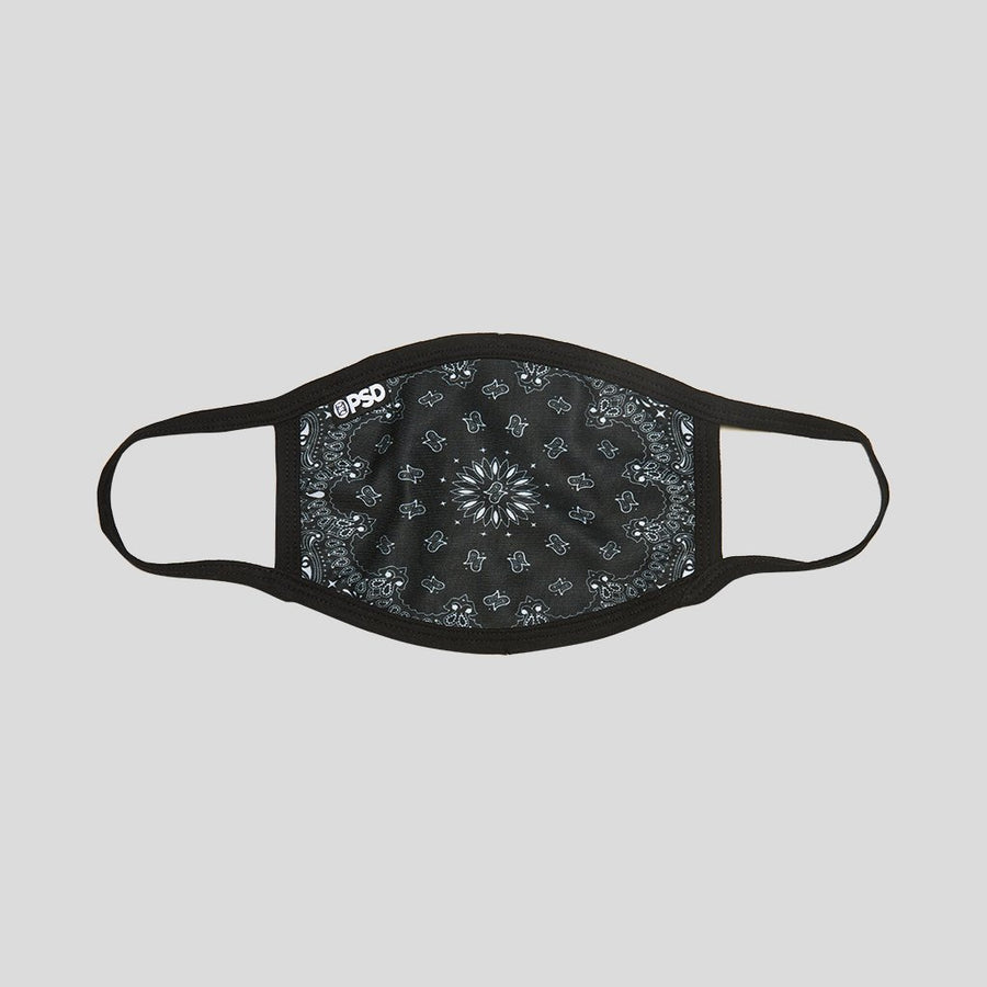 Black Bandana Mask | PSD Underwear