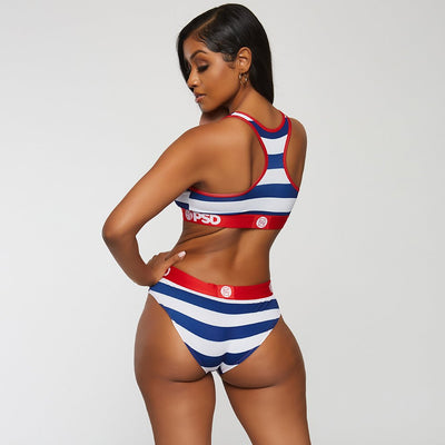 America Stripe Classic Brief | PSD Underwear