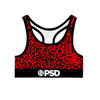 Cheetah RED - Sports Bra