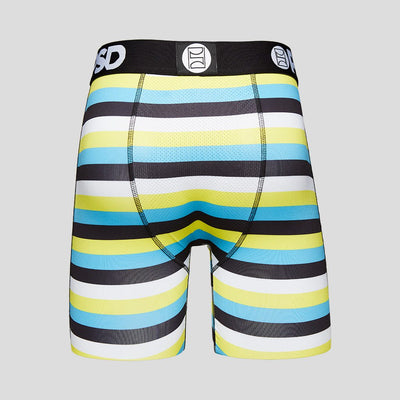 Aqua And Yellow Stripe | PSD Underwear