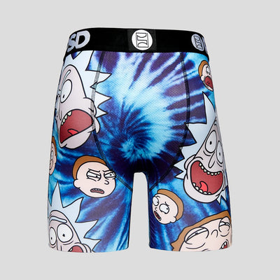 Rick And Morty - Tie Dye Heads | PSD Underwear
