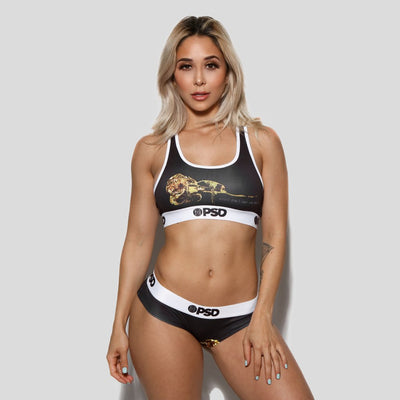 Gold Rose - Sports Bra