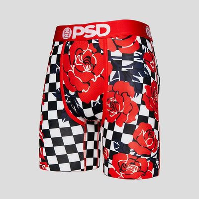 Red Rose Checkers | PSD Underwear