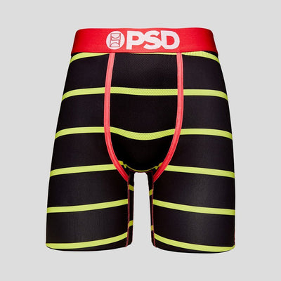 Black And Neon Stripe | PSD Underwear