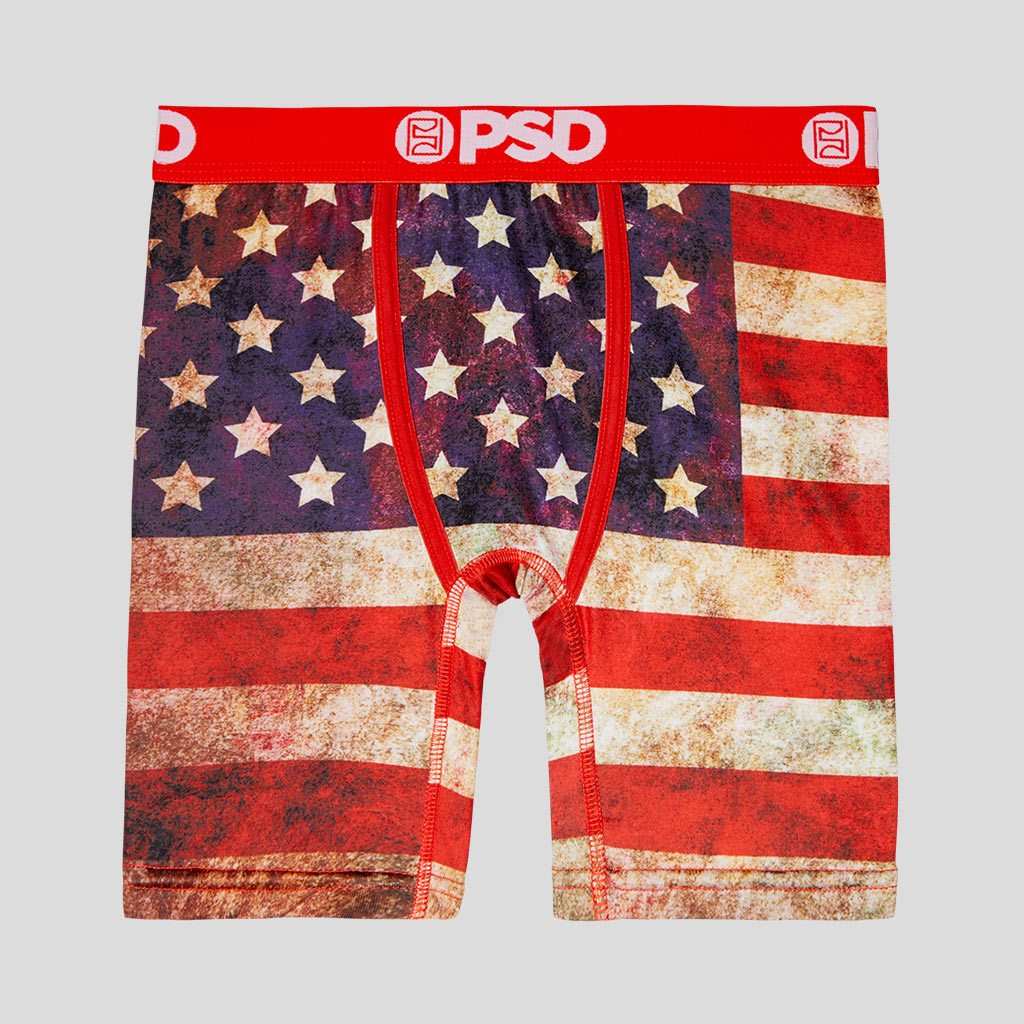 Red Youth PSD Underwear The Pattern Athletic Boxer Brief