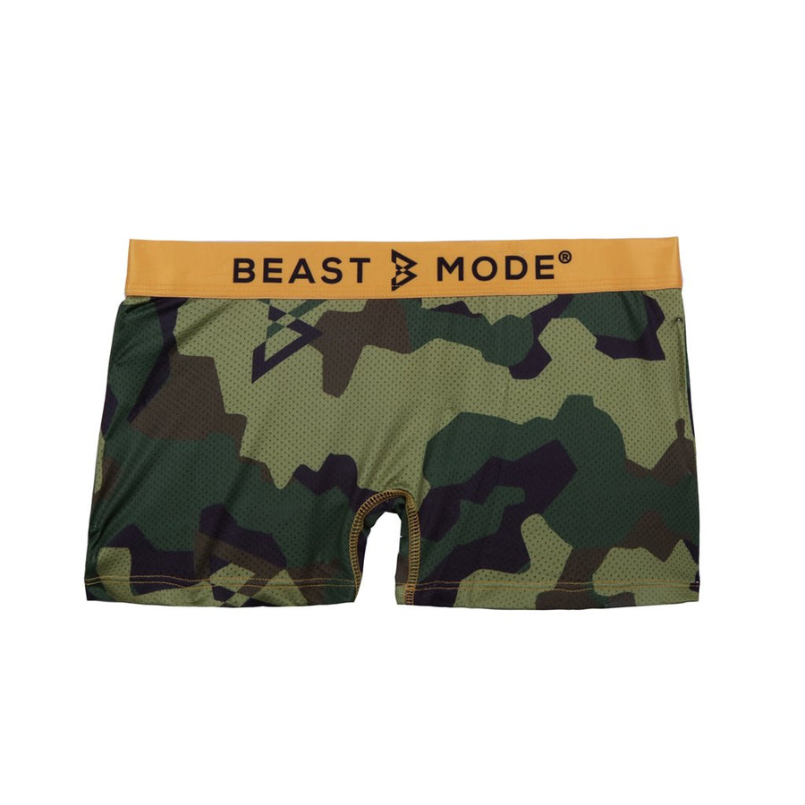 Gold Camo - Boy Short