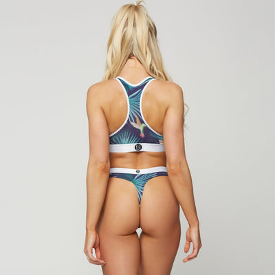 Humming Palms - Sports Bra