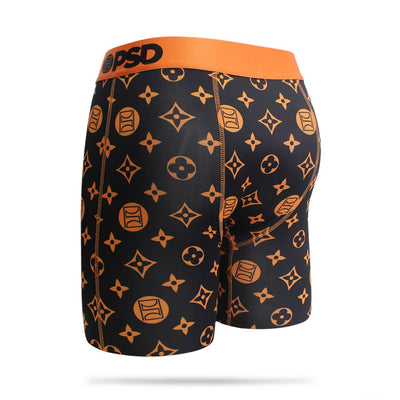 Orange Pattern 2 Men's Boxer Brief