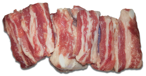 Frozen Milk Fed Veal Spare Ribs, price/500g pack