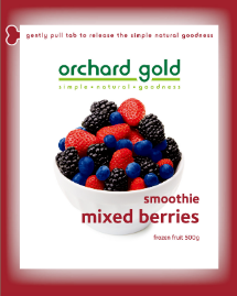 Orchard Gold Smoothie Mixed Berries, 500g, price/pack, frozen