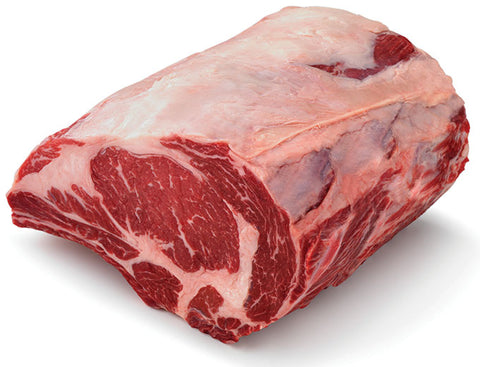 Frozen Angus Beef Ribeye Boneless Roast (Scotch/Prime Rib), approx 2.5kg portion