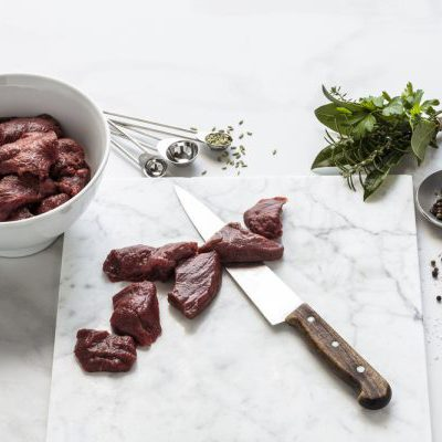 Wild Venison Tenderloin, 500-520g portion, Frozen