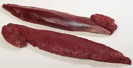 Venison Tenderloin, 700g, price per portion, frozen