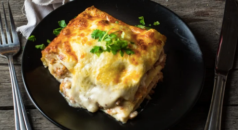 Classic Italian Lasagna with New Zealand beef & organic veggies, 500g, frozen
