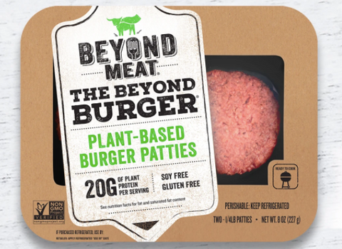 Beyond Burger, 2 x 114g (228g), Plant Based Patties, frozen
