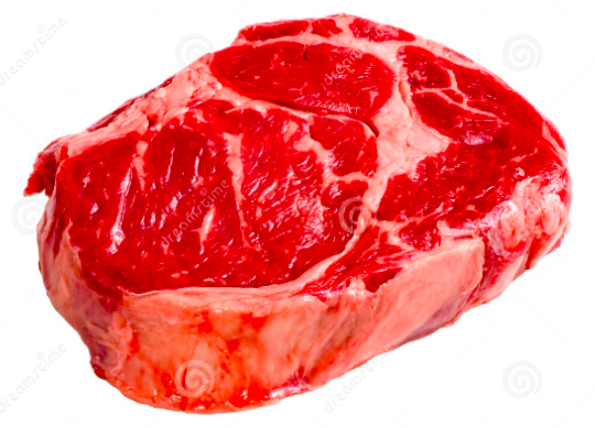 4 only (value pack) Frozen Angus Beef Ribeye Steak (Scotch Fillet) Boneless - 2 pieces per 500g pack, price per 4 packs (2kg)