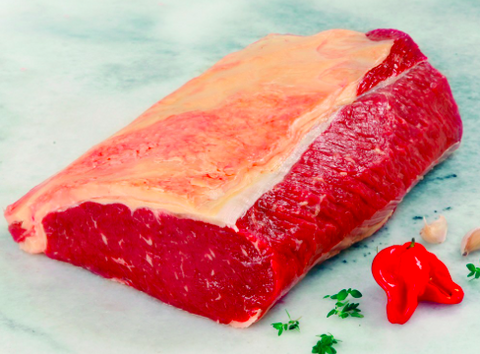Chilled Sirloin Beef Roast, 1.49-1.65kg portion, price per portion