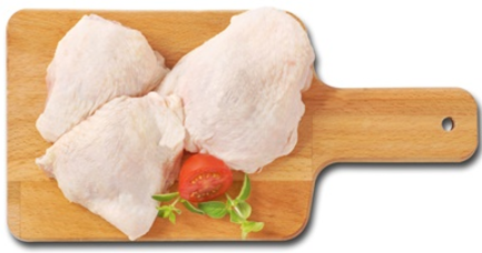 Fresh Chicken Thighs - 500g pack (3-4 pieces)