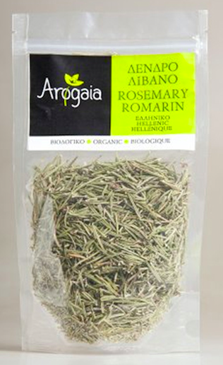 Arogaia Organic Rosemary in a Re-Sealable Bag - 50g