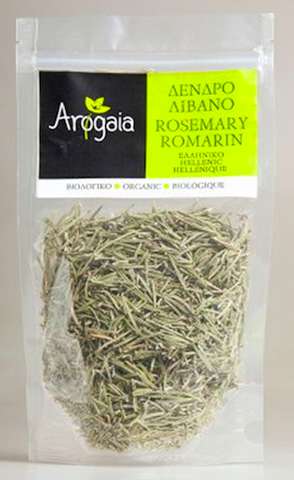 Arogaia Organic Rosemary in a Re-Sealable Bag, 50g
