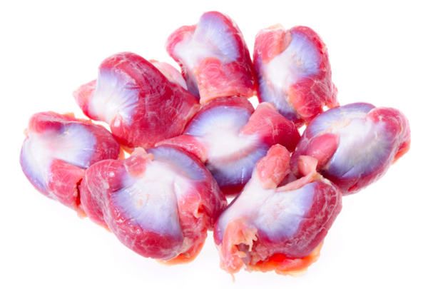 Organic (Halal) Chicken Gizzards, 500g pack (17-25 pcs), frozen