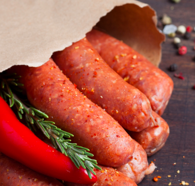 Moroccan Merguez With Harissa – 400g (lamb)