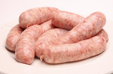 Fresh Pork Sausages – 400g (5 per pack)