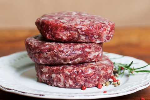 Wagyu Burger Patties, 6 x 180g/1080g pack, frozen