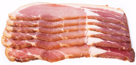 Bacon, Full Middle Rasher, 200g, Chilled