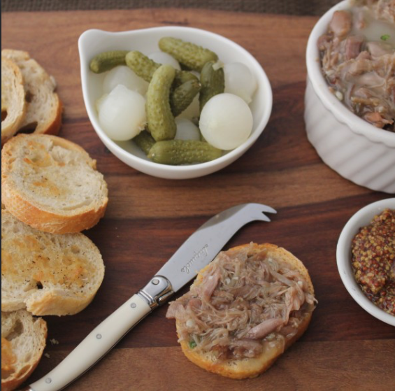 Home made Duck Rillette (200g)