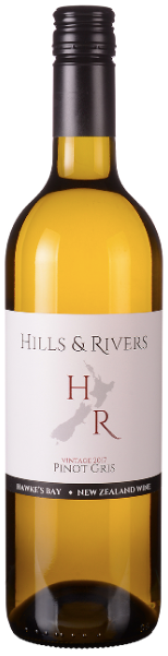 Pinot Gris, Hills & Rivers, Hawkes Bay, 2016