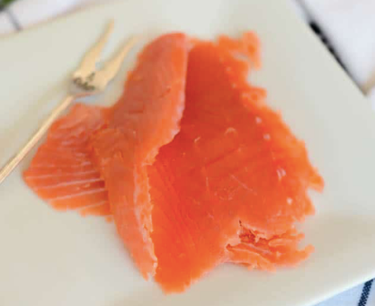 Smoked Salmon Slices, Whisky & Honey, 114g, price/pack, frozen