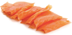 Cold Smoked Salmon Slices, 114g, price/pack, frozen