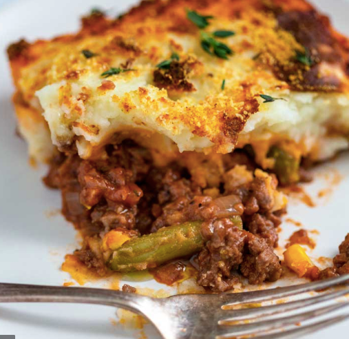 Cottage Pie (beef, hormone free with organic veggies), 500g, frozen