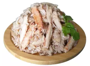 Fresh Wild Caught Crab Claw Meat, 226g