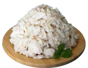 Fresh Wild Caught Backfin Lump Crab Meat, 454g