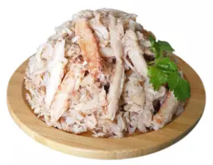 Fresh Wild Caught Crab Claw Meat, 454g