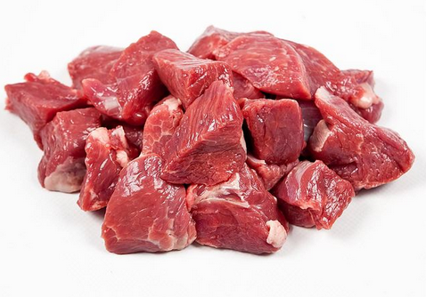 Frozen Lamb Diced, (500g pack), price per portion of 500g pack
