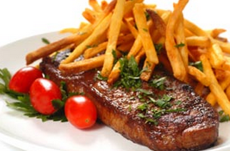 Chilled Angus Beef Ribeye Steak (Scotch Fillet) Boneless, 250g per piece (2 pieces in pack of 500g), price per 500g pack