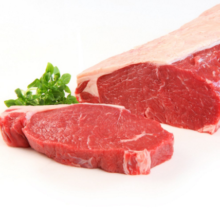 Frozen Angus Beef Sirloin Roast, 1.5-1.6kg portion, price per portion