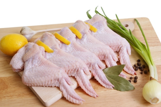 Frozen Chicken Wings - 500g pack (4-5 pieces)