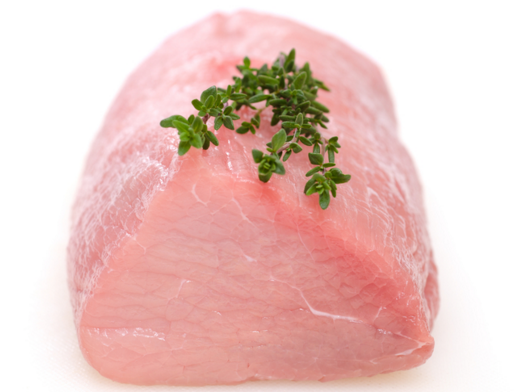 Frozen Milk Fed Veal Rump Portions, price per 630g pack