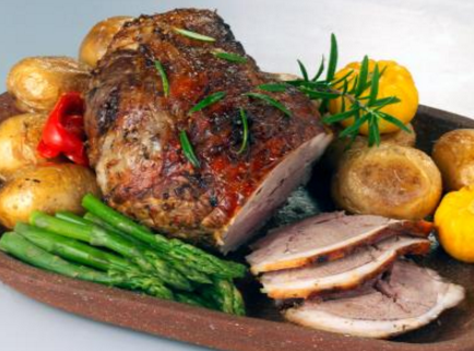 Chilled Lamb Leg Roast - Boneless, Rolled, Netted, 1.75g portion, price per portion