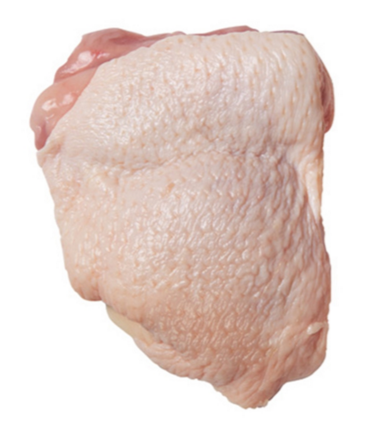 Fresh Organic Chicken Thighs, 500g pack (3-4 pcs)