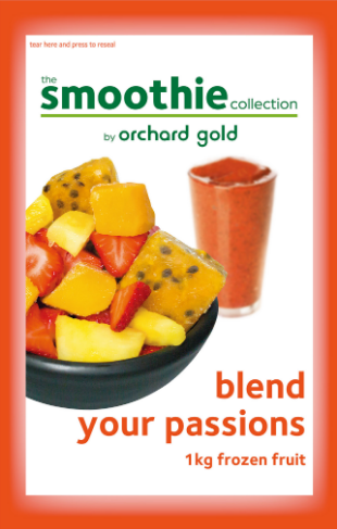 the Smoothie Collection, Blend Your Passions, 1kg, price/pack, frozen