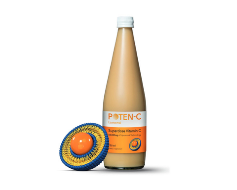 Poten-C Liposomal Superdose Vitamin C, 750ml (3 bottles)