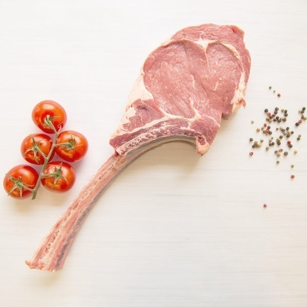 Tomahawk (Tomapork) Pork Chops, 370g, price/each, frozen
