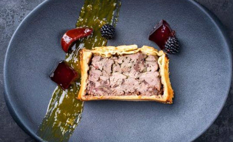 Classic English Pork Pie, 360g, frozen