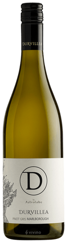 Pinot Gris, Durvillea by Astrolabe, Marlborough, 2019